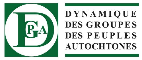 DGPA : Dynamique des Groupes des Peuples Autochtones.
